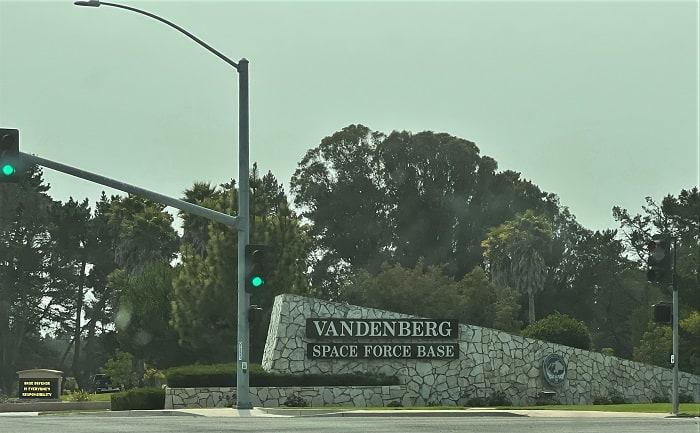 Vandenberg Space Force Base Gate